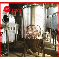 Best 2000L Jacketed Cylindro Conical Fermenter Machine With Pressure Gage wholesale