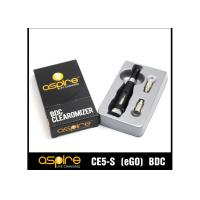 Quality CE5S Aspire Clearomizer Tanks , Stainless Steel 2.1ohm Strong Vapor wholesale