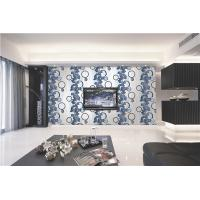 Best 70cm width Top quality waterproof mould proof modern styles PVC vinyl wallpaper wholesale