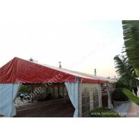 Best Uv Resistant 8 By 21 Backyard Big Outdoor Party Tent White Mixed Red Color wholesale