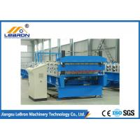 Best White color double layer roof sheet roll forming machine / double layer roof roll forming machine wholesale