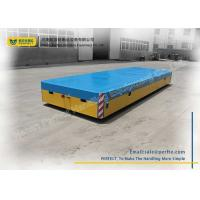 China Steel Mill Battery Transfer Cart Remote Control Transfer Table For Assembly Line on sale