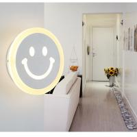 Best Dia 200mm Acrylic cover LED wall light /indoor led wall lamp for home rooms wholesale