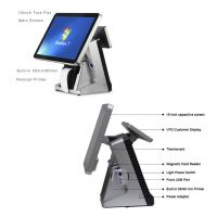 Best Retail All In One POS Terminal 15 Inch Built In 80mm Thermal Printer POS System Capacitive Touch Screen Panel wholesale