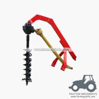 Best tractor 3point hitch post hole digger with different sizes Augers available wholesale