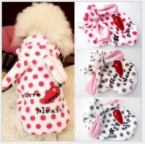China bear pet clothes,pet apparel,dog coat on sale