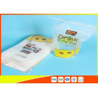 Best Reusable Stand Up Ziplock Bags / Liquid Resealable Stand Up Pouches wholesale