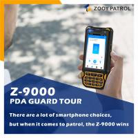 Cheap ZOOY Z-9000 PDA Guard Patrol Maintainance Inspection Use Data Colleactor with APP Android System for sale