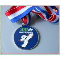 Best Engrave / press Gold Plated Colorful Sport Medals for sport game wholesale
