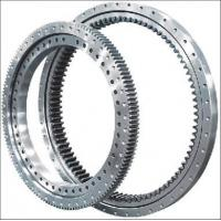 Best Electricity Equipment Single Row Slew Ring Bearings Four Point Contact Ball External Gear wholesale
