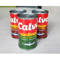 Buy cheap Calvo Brand Canned Sardine Canned Fish in Tomato Sauce with or without Chili from wholesalers