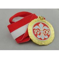 Best Iron / Brass / Copper Soft Ribbon Medals with Die Struck, Stamped, Die Cast wholesale