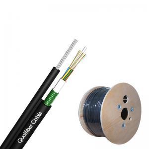 Best Unitube Fiber Optic Cable / Aerial Fiber Optic Cable GYXTC8Y UV Stable wholesale