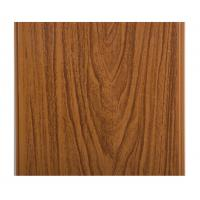 Best Glossy Printing Wood Grain Wall Panels , Wood Wall Covering Panels Soundproof wholesale