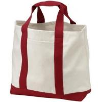 Best Personalised Cute Cotton Canvas Tote Bag With Pockets , Foldable Tote Bag For Travel wholesale