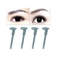 Cheap Microblading Reusable Makeup Measure Eyebrow Guide Ruler Permanent Tools for sale