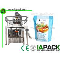 China Full Automatic Zipper Bag Pet Food Packing Machine Pet Snacks Stand Up Pouch Filling Sealing Machines Premade on sale
