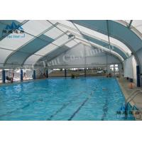 Best Outdoor Curved Tents For Sporting Events , UV Resistant Heavy Duty Party Tent wholesale