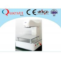 Quality Portable Optical Desktop Laser Marking Machine With 20W Lens Scanner , CE Certificate wholesale