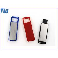 China Sliding UDP Chip 3D Transparent Logo LED Light 64GB USB Flash Pen Drive on sale