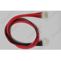 Cheap Red OEM Wire Harness Molex 5557 Cable Assembly 18awg UL Standard for sale