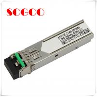 China 1000BASE-T Single Mode SFP Optical Transceiver GLC-T For Cisco on sale