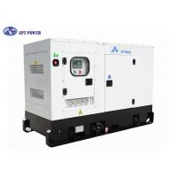 China 4 Cylinders Engine Soundproof Diesel Generator Set 63kVA Prime Output @ 1500rpm on sale