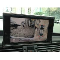 Best Audi A6 Car Reverse Camera System , 360 Around View Monitor Parking System,HD Camera wholesale