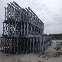 Quality Painted Bailey Suspension Bridge Q345B Temporary Prefabricated Steel Bridges wholesale