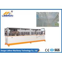 Best Orange Color Light Gauge Steel Framing Machines 2500KGS For Prefabricated House wholesale