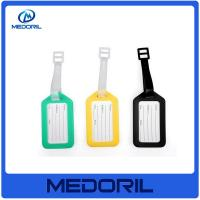 Best Wholesale plastic material travel bright colored luggage tags wholesale