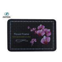 Best Custom Color Oilproof Kitchen Floor Mats Anti Fatigue With Non Slip Backing wholesale