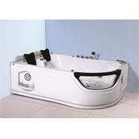 Best Indoor Jacuzzi Soaking Tub , Stand Alone Whirlpool Tub With Computer Controller wholesale