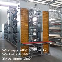 Best Automatic Poultry Farming Equipments Galvanized H Type Laying Hens Battery Chicken Coop For Sale wholesale