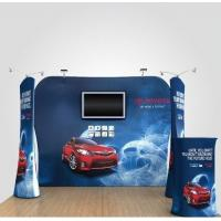 Cheap Formulate Stretch Hop Up Fabric Display Stand For Exhibition for sale