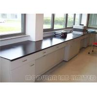Cheap Adjustable Height Laboratory Fume Hood / Chemical Resistant Lab Tables for sale