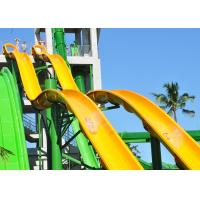 Best 18m Height Tall Water Slides Fiberglass Customized For Holiday Resort wholesale