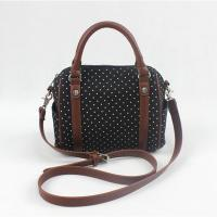 Best White Dot Black And White Crossbody Bag Famous Design For Young Girls wholesale