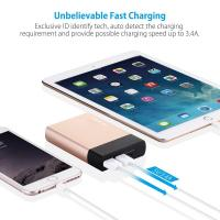 Best Tablet / Smartphone Dual Charge Power Bank 10000mAh External Battery Pack wholesale