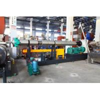 Best SJ150 PE PP flake/crap single crew extruder water ring pelletizing line wholesale