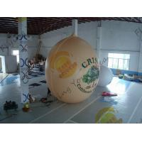 Cheap Air Brush UV Printed Wall Nut Fruit Shaped Balloons For Helium / Event Show 5m High for sale