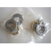 Best Chrome Steel Plane Miniature Thrust Bearings Brass Cage Low Voice wholesale