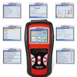 Best Multi Languages Car Engine Tester Kw830 Konnwei Scan Tool Menu Lifetime Upgradeable wholesale