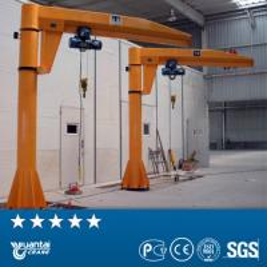 China Yuantai 360 degree rotating floor mounted 0.25 ton 1 ton 2 ton 3 ton 5 ton pillar hoist sm on sale