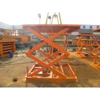 Best Good quality Hydraulic Fixed Scissor Goods Lift Table wholesale