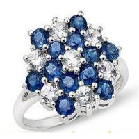Best Diamond & Sapphire ring wholesale