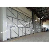 Best Manual Folded Push Pull Overhead Industrial Garage Doors Track And Hardware Of Aircraft Hanger wholesale