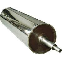 Best Wear Resistance Chrome Long Mirror Roller For Leatheriod , Paper , Glass , Textiles wholesale