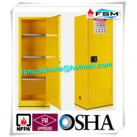 Best Flammable Chemical Safety Storage Cabinets 22 Gallon With Single Door wholesale
