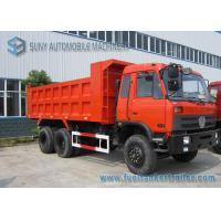 Buy cheap Dongfeng 6x4 20T 30T Garbage Trucks , 3 - Axles Garbage Container Truck from wholesalers